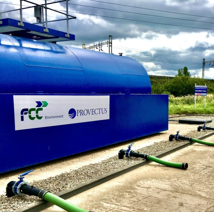 Maw Green soil treatment facility
